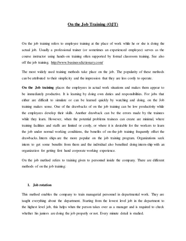 Recommendation letter for on the job training yeniscale recommendation letter for on the job training yelopaper Image collections