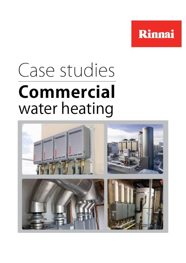 Case studies Commercial water heating