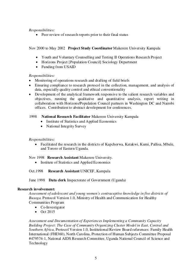 leonard bufumbo cv current nov 2015
