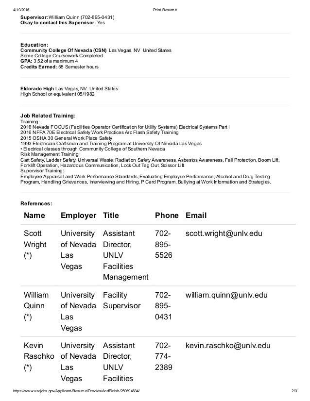 Usajobs Resume | Resume Builder Usajobs Mendi Charlasmotivacionales Co