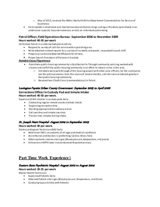 prostitute resume