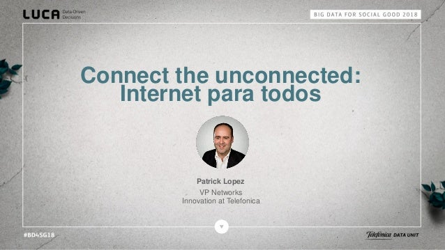 3 programme to connect the unconnected