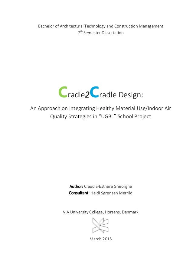 Dissertation design technology
