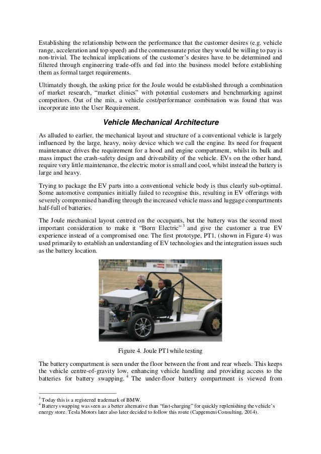 Learning Systems Engineering Lessons from an Electric Vehicle Develop…