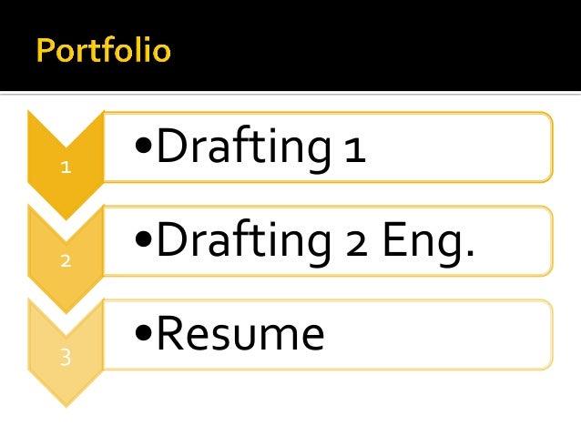 Drafting Portfolio2 Slide 2