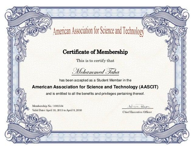 Membership Certificate  BesikEightyCo