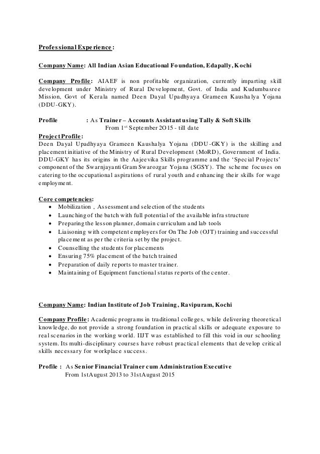 akhila sreejith resume