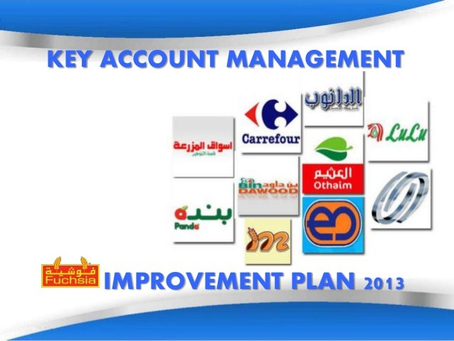 key account management planning Account planning & management insight and visibility for even the most complex accounts developing a plan for managing key accounts is a challenge, unless.