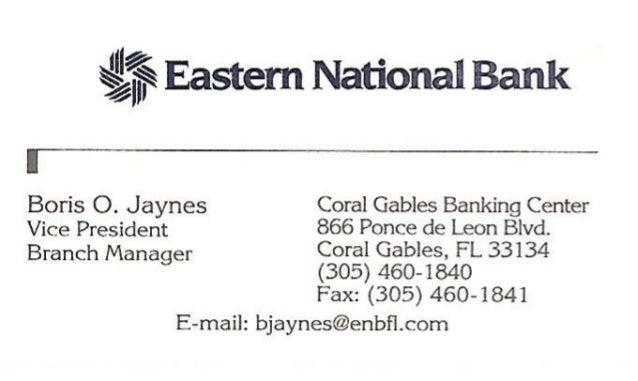 Eastern national bank business card colourmoves