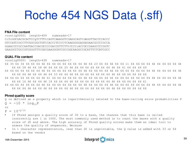 ngs data analysis tutorial pdf