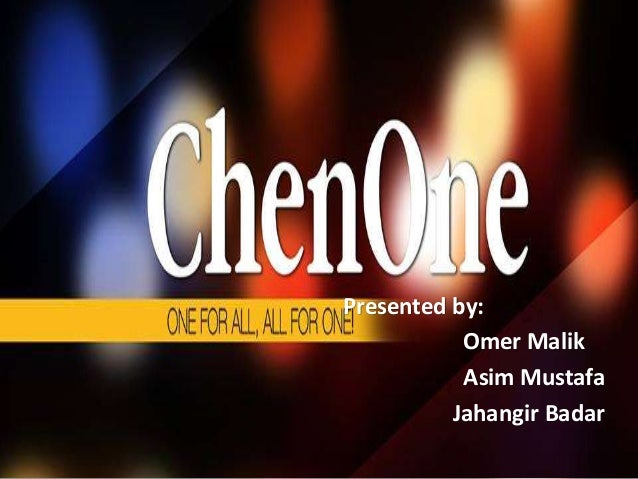 Presented by: Omer Malik Asim Mustafa Jahangir Badar