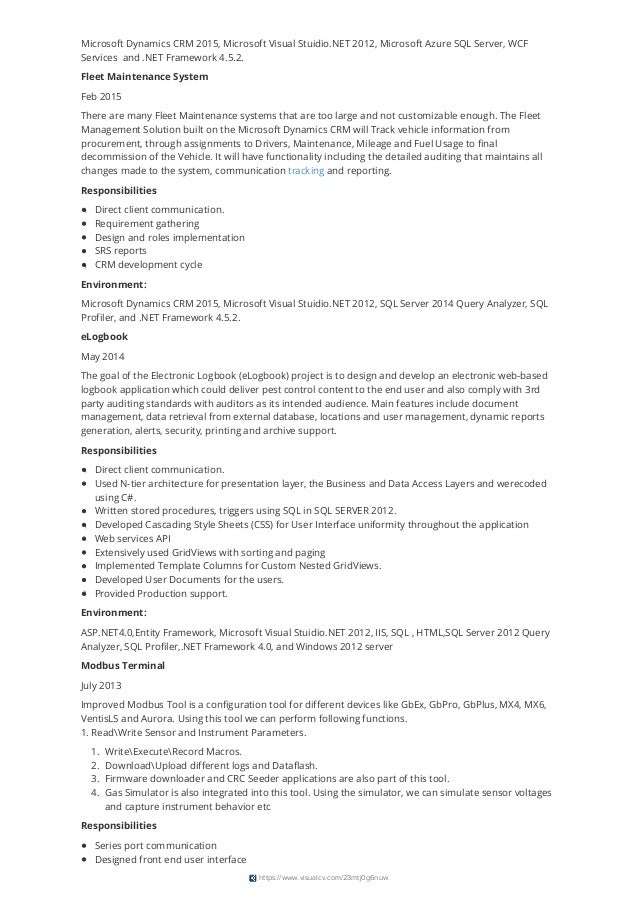 umair ahmad resume