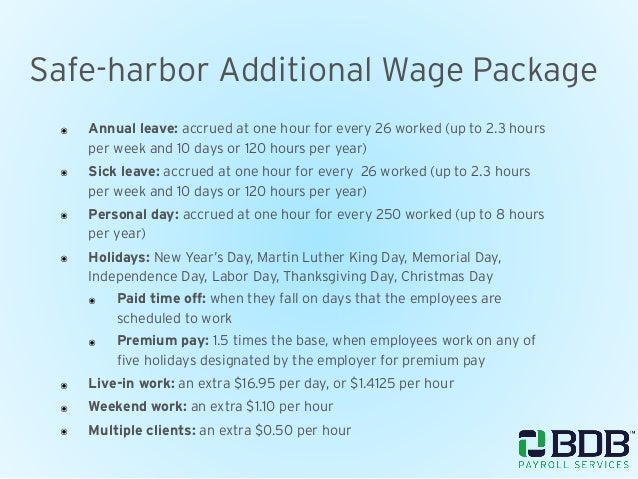Wage Parity Compliance