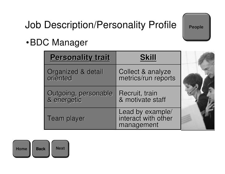 job descriptionpersonality - Staffing Manager Job Description