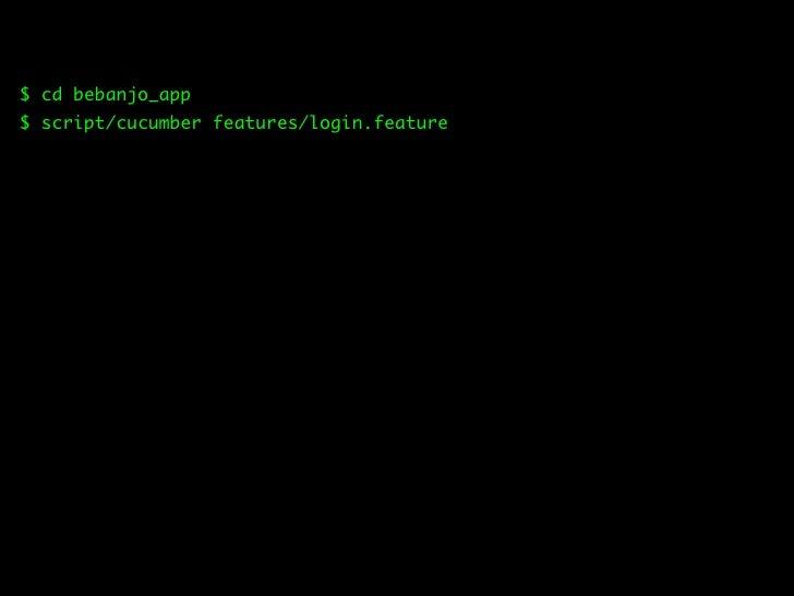 $ script/generate model User username:string password:string