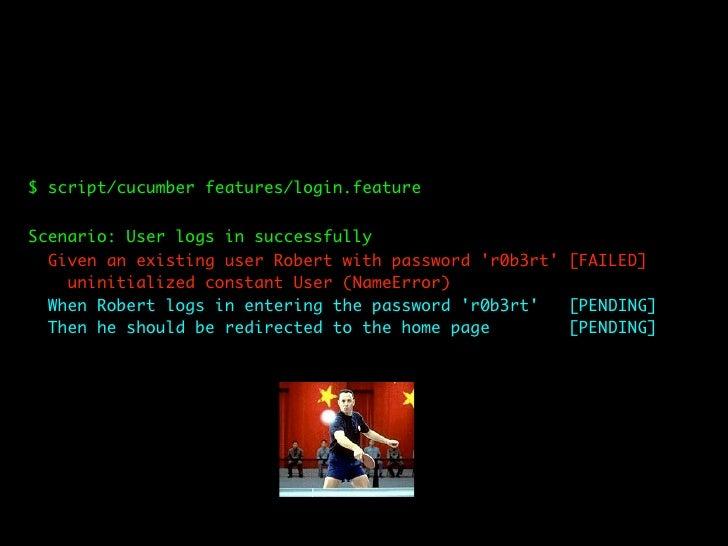 # /bebanjo_app/features/steps/user_steps.rb     When /^(.*) logs in entering the password '(.*)'$/ do |username, password|...