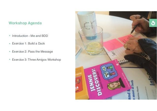 Bdd - how to solve communication problems Slide 2