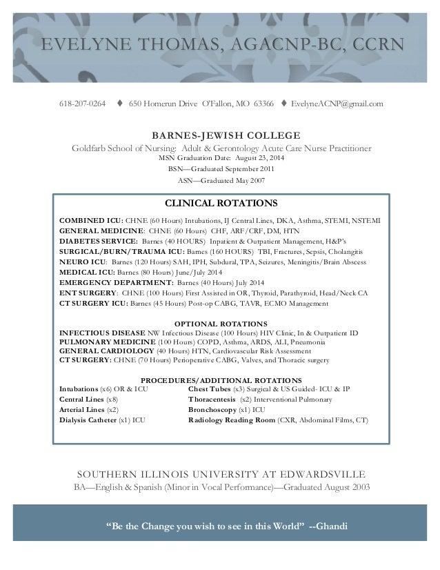 Ucsf Rn Resume - Letter