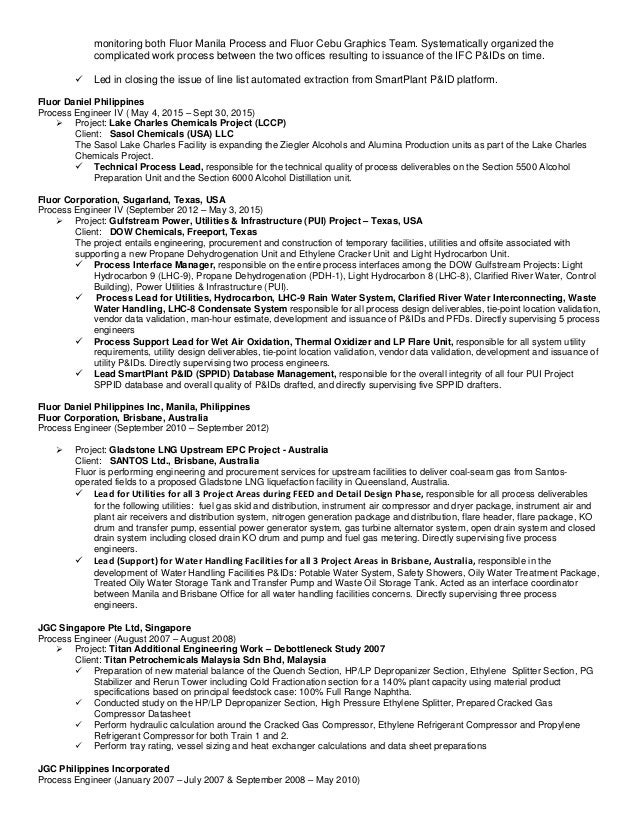Unique Sasol Engineering Resume Image - Administrative Officer Cover ...