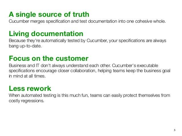 BDD in Java using Cucumber