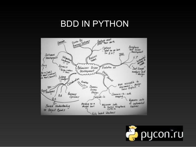 BDD IN PYTHON