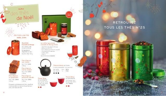 Palais des Thés - Catalogue Noël 2014 Slide 3