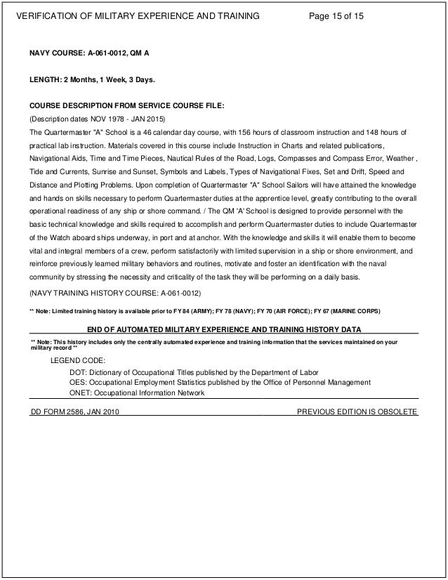 Verification of Military Experience and Training Document-Military Ed…