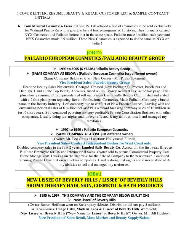 Artist Cover Letter Sample MUA Demo Coverletter Cosmetic Nurse Cover Letter  Cosmetic Nurse Cover Letter Example