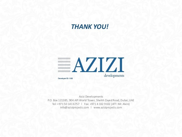 Azizi-Developments-PPT_AP