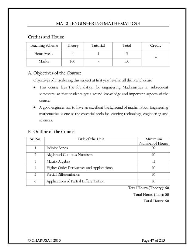 B Tech EC Booklet Final
