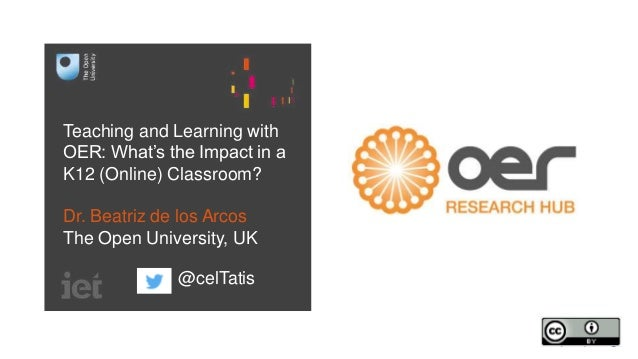 Teaching and Learning with OER: What's the Impact in a K12 (Online) Classroom?