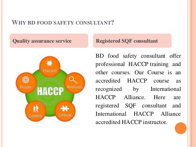 food safety in bd Bd food safety consultants llc, naperville 76 likes 2 were here bd food safety consultants llc offer accredited haccp, pcqi training and sqf.