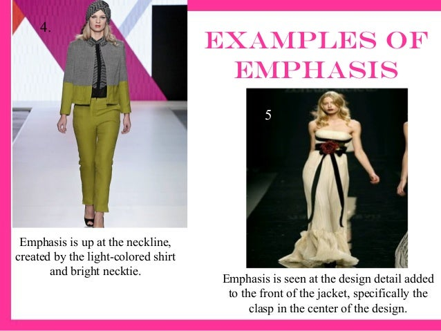 Pics For > Emphasis Fashion Design