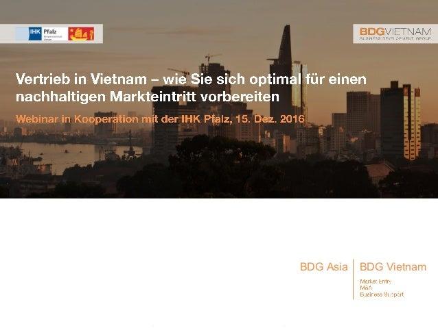 1| BDG VietnamBDG Asia