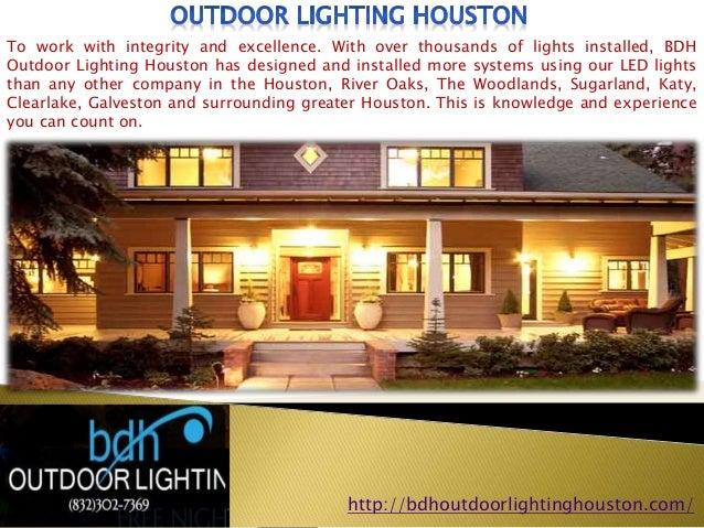 Bdh outdoor lighting houston 11 aloadofball Image collections