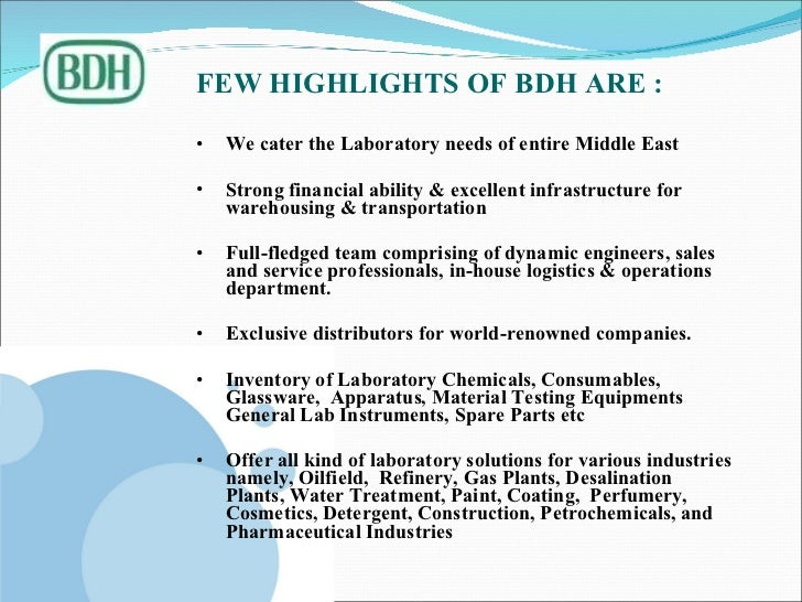 BDH MIDDLE EAST KUWAIT