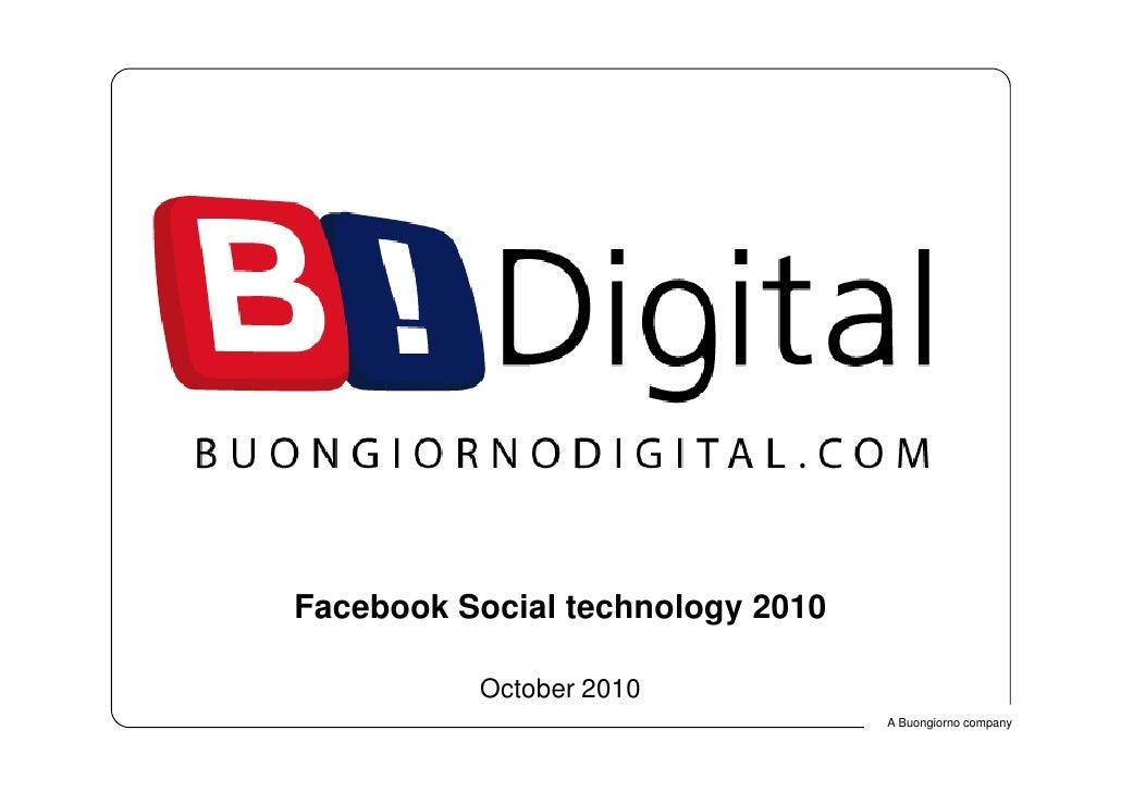 B!digital  facebook 2010 oct