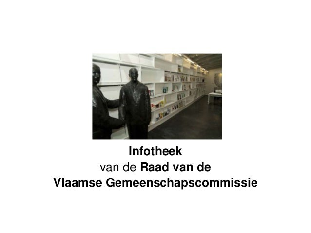Infotheek van de Raad van de Vlaamse Gemeenschapscommissie