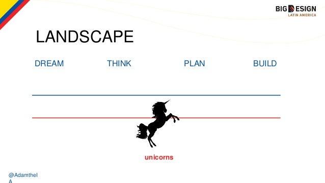 @AdamtheI LANDSCAPE DREAM THINK PLAN BUILD unicorns