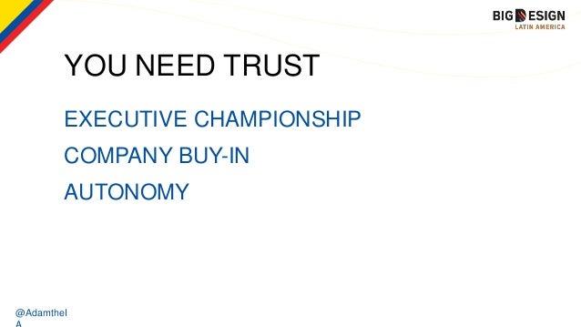 @AdamtheI EXECUTIVE CHAMPIONSHIP YOU NEED TRUST COMPANY BUY-IN AUTONOMY