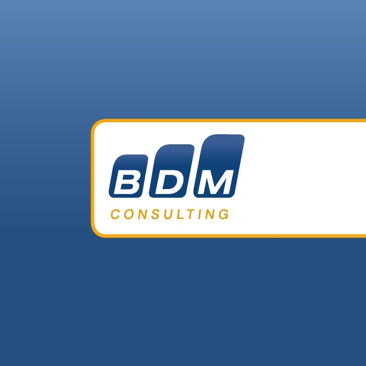 Who Is BDM Consulting? What makes us the only truly viable Supply Chain solution for you? BDM specializes in global supply...