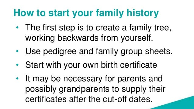 Searching for births, deaths and marriages - hints and tips