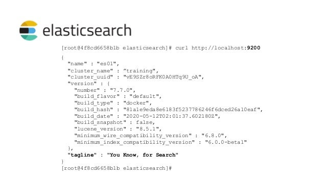 Free, developed and maintained by Elastic Integrates with Beats Integrates with Elasticsearch Tons of plugins