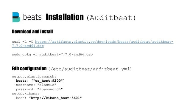 Elastalert configuration vim /opt/elastalert/config.yaml es_host: elk-server es_port: 9200 es_username: es_user es_passwor...