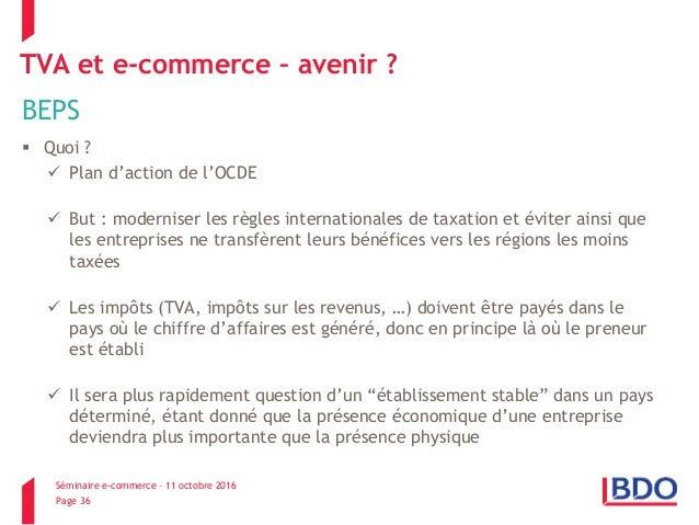 E Commerce Et Tva