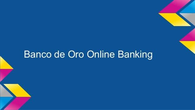 Banco de Oro Online Banking