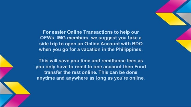 bdo online banking for img