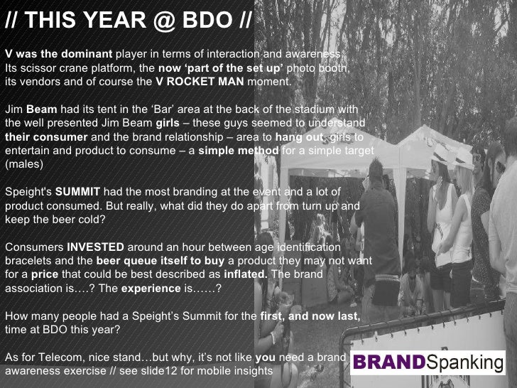 // THIS YEAR @ BDO // V was the dominant  player in terms of interaction and awareness. Its scissor crane platform, the  n...