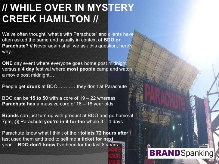 """// WHILE OVER IN MYSTERY CREEK HAMILTON // We've often thought """"what's with Parachute"""" and clients have often asked the sa..."""