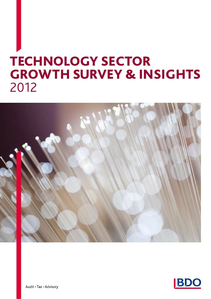 Technology SECTORGROWTH SURVEY & insights2012